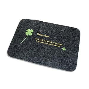 door mat non slip bathroom mats shower rugs On door mats amazon
