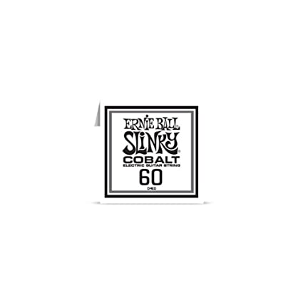 Amazon Ernie Ball Cobalt Electric Guitar Strings Single String 60 Gauge Musical Instruments