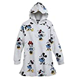 Disney Minnie Mouse Through The Years Tunic Hoodie for Women Size Ladies S White