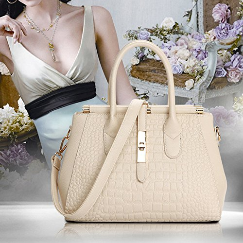 Rose Light GENUINE Single Handbag Women Brown Bag LEATHER Large Shoulder BAG Casual xrv4qzxp