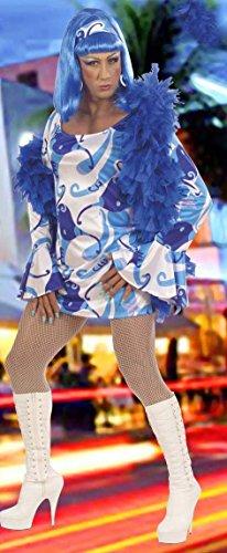 70s Chick Costume-- Blue
