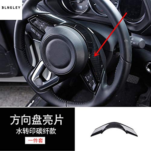 Style 5 1lot ABS Carbon Fiber Grain Inside Decoration Cover for 2017 2018 Mazda CX-5 CX 5 CX5 MK2 Car accessrioes - (color Name  Style 9)