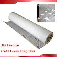 25inch*65feet 3d Cat Eye Pattern Design Cold Film for Laminating Machine
