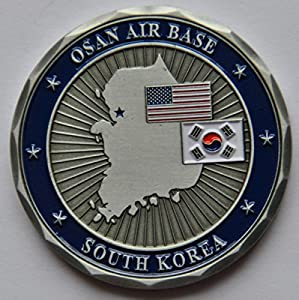 Osan Air Base Challenge Coin