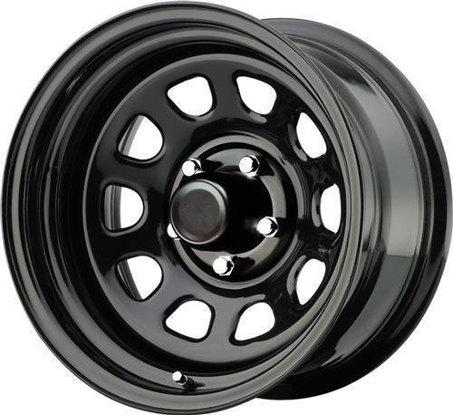 Pro Comp Steel Wheels Series 51 Wheel with Gloss Black Finish (16×8″/8×6.5″)