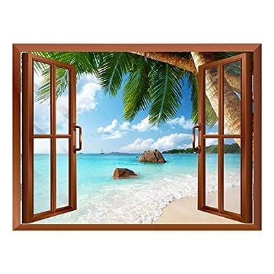 ANSE Lazio Beach on Praslin Island in Seychelles...