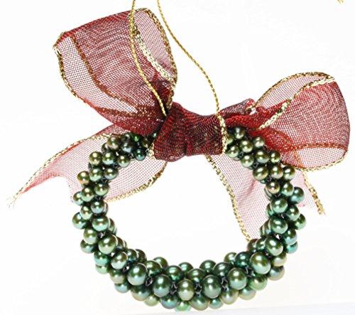 Honora Cultured Freshwater Pearl Wreath Ornament