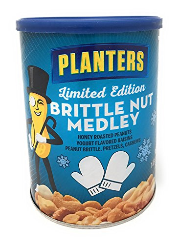 (Planters Brittle Nut Medley 19.25oz 2-Pack)