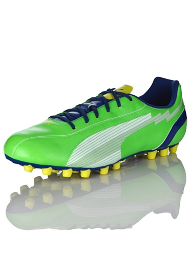 Puma Sneaker Evospeed 5 Ag Verde/Bianco/Blu It 40,5 (Uk 7)
