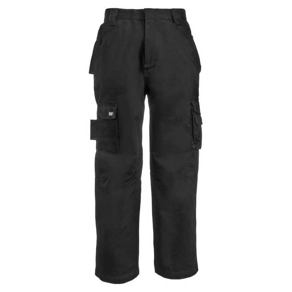 Caterpillar Men's Big and Tall Flame Resistant Cargo Pants (Regular and Big & Tall Sizes), fr Black, 32W x 36L
