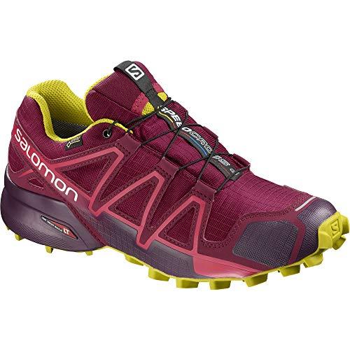 Rose Foncã Scarpe Trail Running 4 Donna Salomon Impermeabili Foncã Gtx Speedcross Da violet WvTXWUFnz