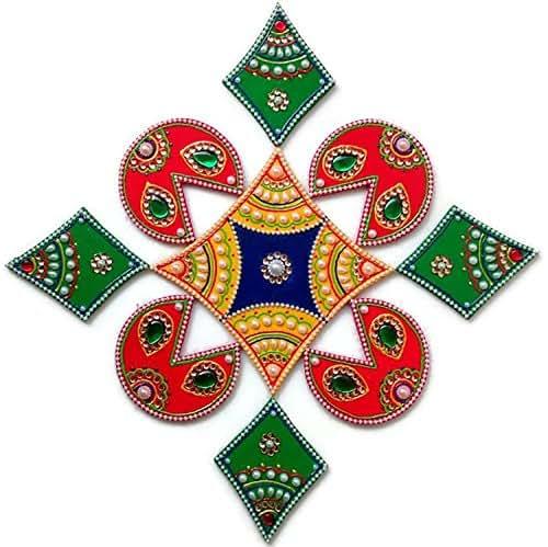 Amazon.com: Diwali Christmas Decorations - Rangoli ...