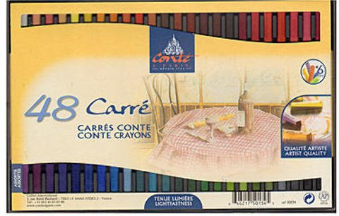 Conte Crayon Sets (Traditional) - Set of 48 1 pcs sku# 1837880MA by Conte