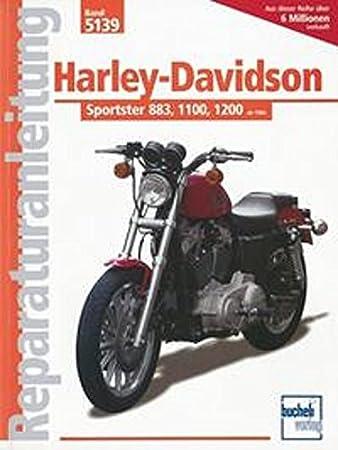 repair manual 702 59 68 5139 harley davidson xlh sportster 883 rh amazon co uk 1990 harley davidson sportster service manual Sportster Bobber