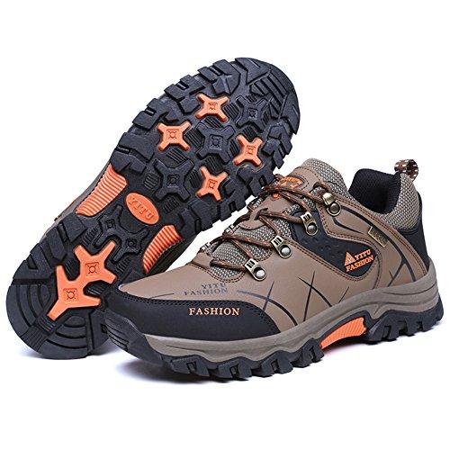 Eagsouni Trekking Wanderschuhe Wanderstiefel Sports Outdoor Wanderhalbschuhe Wasserdicht Wander Schuhe für Herren Damen 39-47 l9Xe2Qj