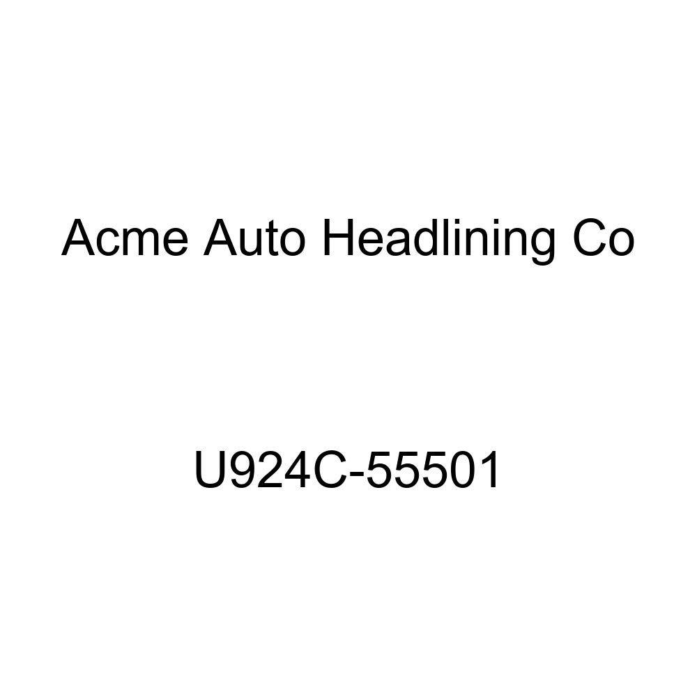 Acme U924C-55501 Front and Rear Sandalwood Cloth Bench Seat Upholstery