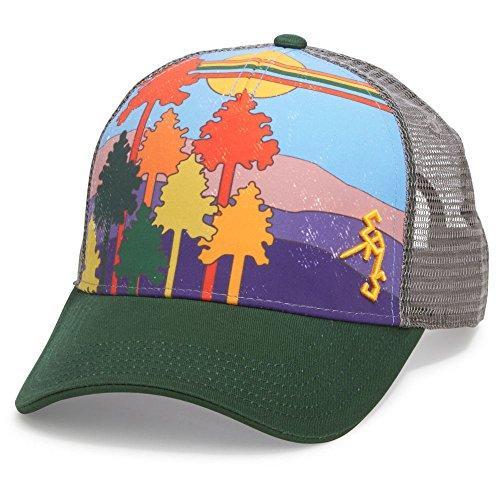 EMS Men's �_~80s Trucker Hat Eden Green ONESIZE
