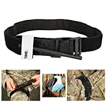 Spinning Type MilitaryTourniquet Combat Tourniquet First Aid Portable Tactical SOFW Emergency Medical One Hand Application Perfect for Outdoor Hiking Emergency
