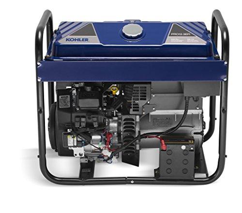 KOHLER 12,300-Watt Gasoline Powered Electric Start Portable Generator with Command PRO EFI Commercial - Engine Kohler Generators