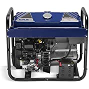 KOHLER 12,300-Watt Gasoline Powered Electric Start Portable Generator with Command PRO EFI Commercial Engine