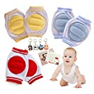 Fly-love® 5pairs Breathable Adjustable Elastic Infant Toddler Baby Kneepads Knee Elbow Pads Crawling Safety Protector