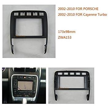 zwnav coche Audio Radio Panel de marco de montaje de radio para PORSCHE CAYENNE Turbo 2002