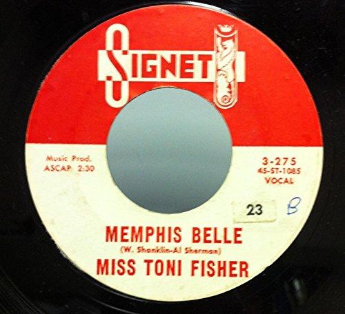 MISS TONI FISHER THE BIG HURT / MEMPHIS BELLE 45 rpm - Uk Signet