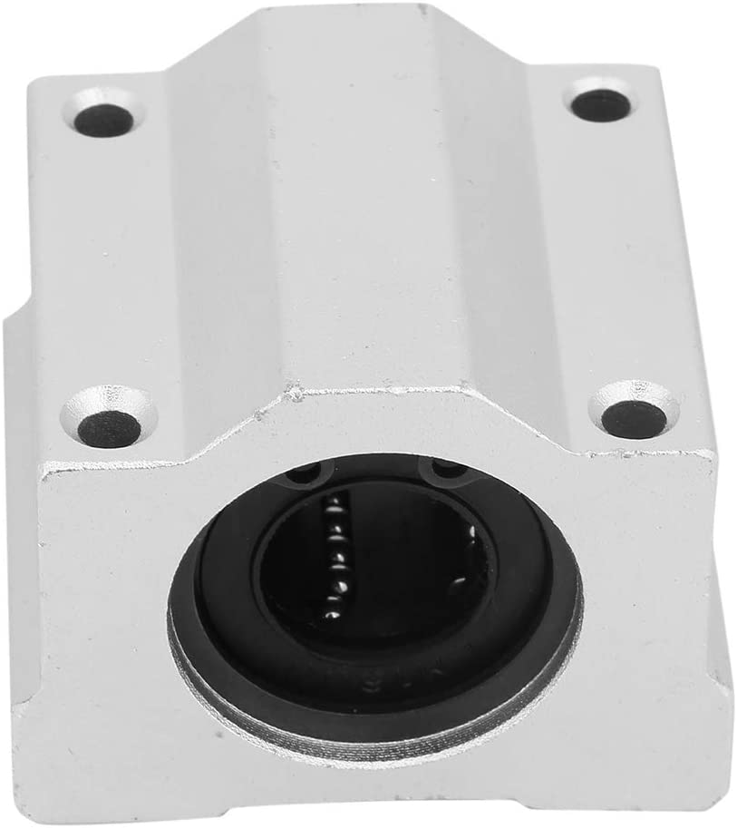 SCS16UU 16mm Aluminum Alloy Linear Motion Ball Bearing Pillow Block Closed Linear Bearing Slide Block Slide Bushing