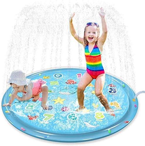 Jasonwell Sprinkler for Kids Splash Pad