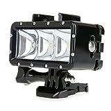 Bestshoot 30M Waterproof LED Video Light Fill Night Light