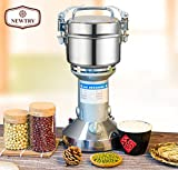 NEWTRY 300g Electric Stainless Steel Pulverizer Blender Herb Mixer Household Food Mill Grain Coffee Grinder Superfine For Chinese Medicinal Materials Spice Flavoring 110V/220V