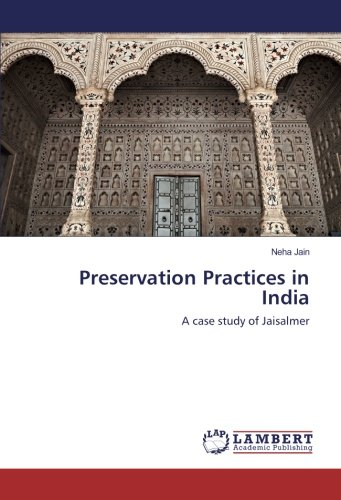 Download Preservation Practices in India: A case study of Jaisalmer pdf
