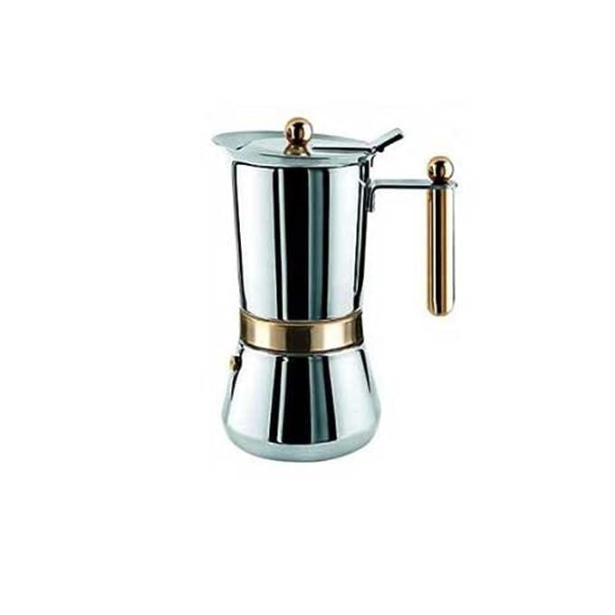 Amazon.com: vev-vigano vespress Oro 6-espresso Taza Acero ...