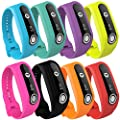 Replacement band for TomTom Touch, Silicone Fitness Tracker Replacment Bands Bracelet Sport Strap WristBand Accessory for TomTom Touch