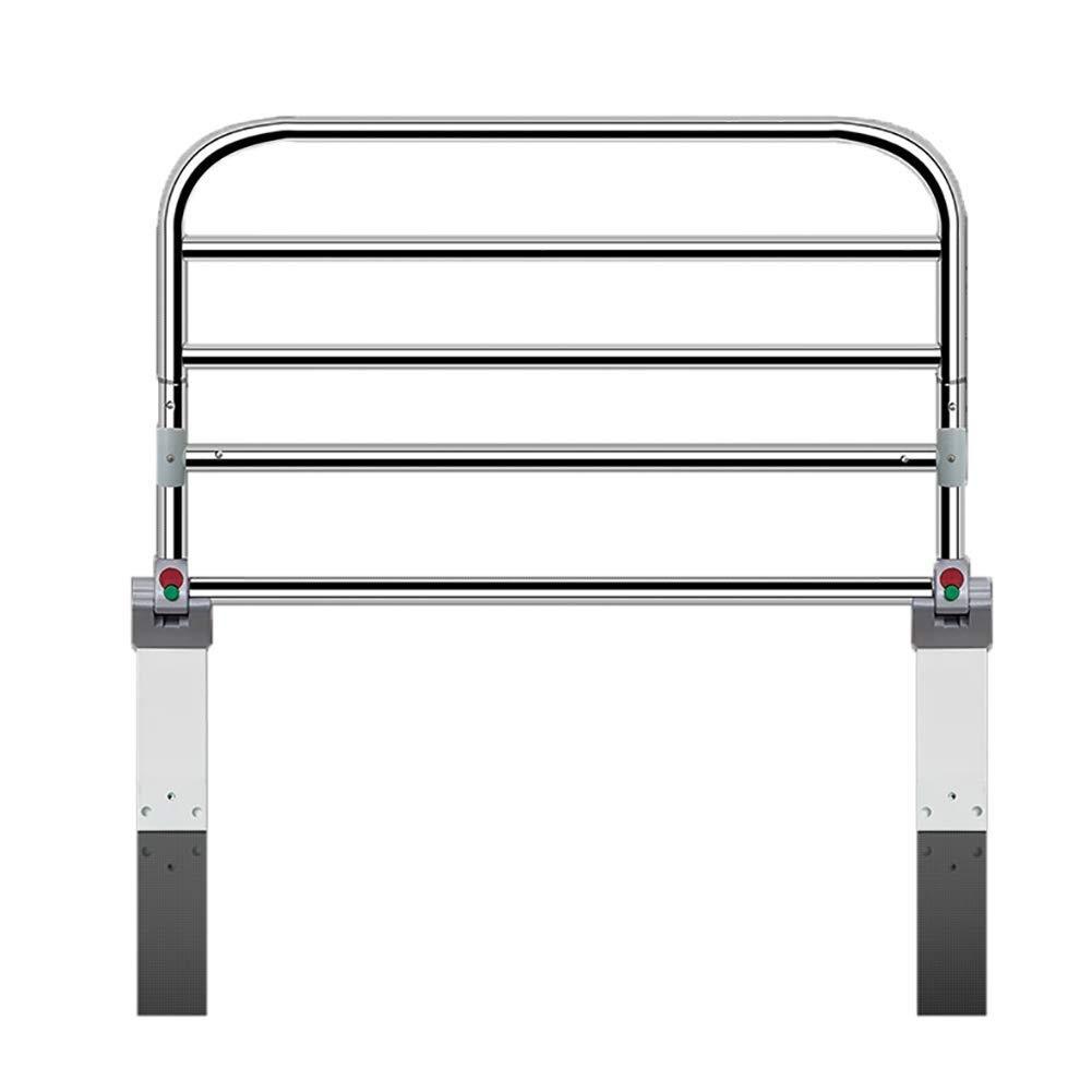JAZC-ベッドガード 高齢者のためのベッドのグラブの柵の病院用等級の安全ベッドの柵、ベッドの側面の手すり、キングクイーンのツインサイズのベッドのための大人の手すり (Size : Length 60cm) Length 60cm  B07STMS5NJ