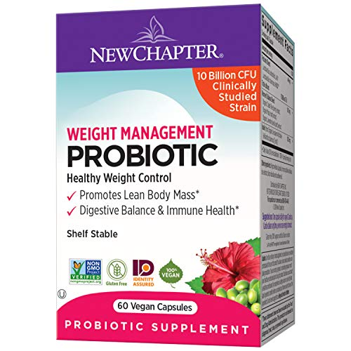 New Chapter Management Probiotics Prebiotics product image