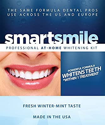 Smartsmile Professional Teeth Whitening Kit - With 35% Carbamide Peroxide Gel and Thermoform Trays