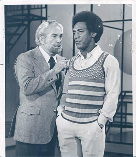 Vintage Photos 1972 Press Photo Actor Foster Brooks Bill Cosby Comedian Musician Author ()