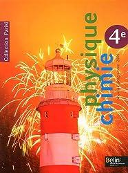Physique Chimie 4e Parisi : Nouveau programme 2009
