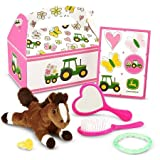 John Deere Pink Filled Party Favor Box
