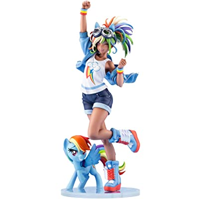 My Little Pony Rainbow Dash BISHOUJO Statue: Toys & Games