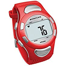 Bowflex Strapless Water Resistant EZ PRO Heart Rate Monitor Watch - Red
