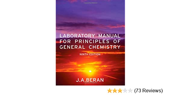 Amazon laboratory manual for principles of general chemistry amazon laboratory manual for principles of general chemistry 9780470647899 jo allan beran books fandeluxe Choice Image