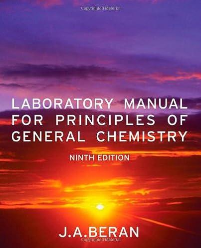 amazon com laboratory manual for principles of general chemistry rh amazon com Organic Chemistry Lab Survival Manual Lab Book