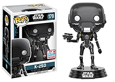 Funko Pop Star Wars-Battle Damaged K-2SO Fall Convention Exclusive Collectible Figure from Funko