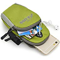 Aeoss Waterproof Sport Armband Unisex Running Jogging Gym Arm Band Case Cover for Mobile iPhone 6s 6 Plus Phones Till 5.7 inches