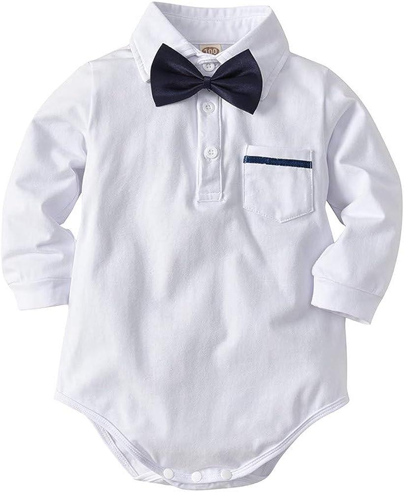 Malloom Ropa Bebé niño, Mameluco de Ha Yi + Pantalones de ...