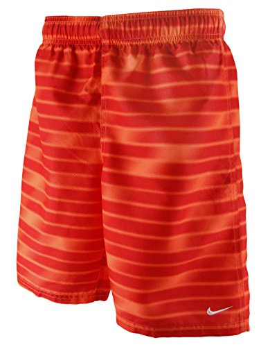 NIKE Swim Boys 8 Volley Short - University Red - Trunks Boys Nike Swim