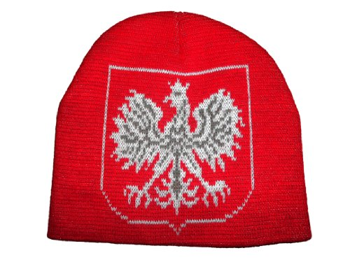 Poland Skull Cap Polska Polish Beanie Eagle Hat Hussar