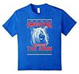 Kids Skye Terrier Smashing Through The Snow Shirt Xmas Gift 6 Royal Blue